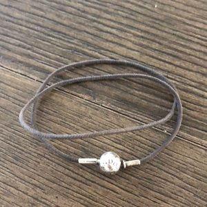 Pandora Essence Double Fabric Bracelet